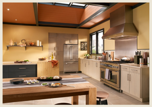 Colorfully, BEHR :: Easy Kitchen Color Ideas
