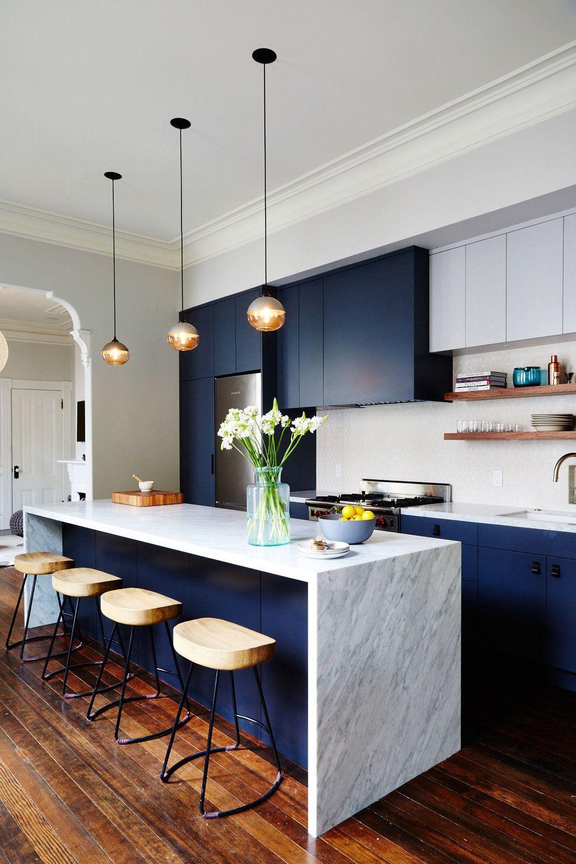 Design your kitchen with   unique kitchen color ideas