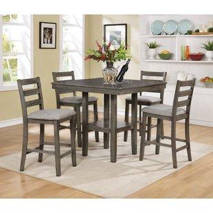4 Chair Dining Set   Wayfair