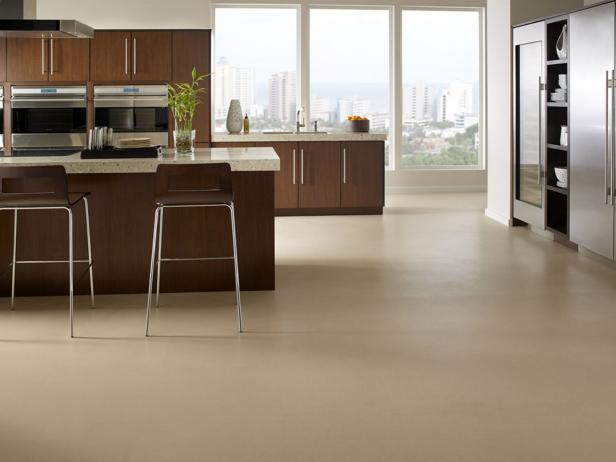 A little something about the   different types of kitchen floor