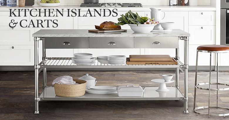 Kitchen Islands & Serving Carts | Williams Sonoma
