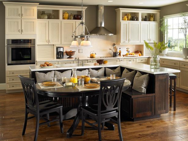 Kitchen Island Table Ideas and Options + HGTV Pictures | HGTV