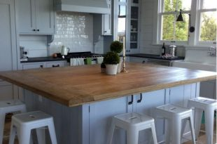 12 Inspirational Kitchen Islands Ideas | Home projects | Pinterest