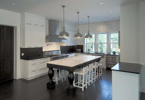 Take a Seat at the New Kitchen-Table Island