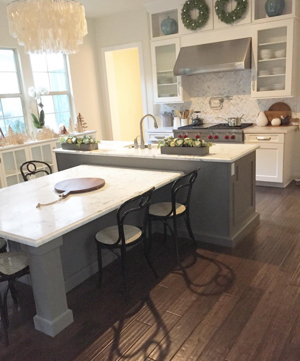 LUV this island! Kitchen | My House of Four | Instagram | Kitchens