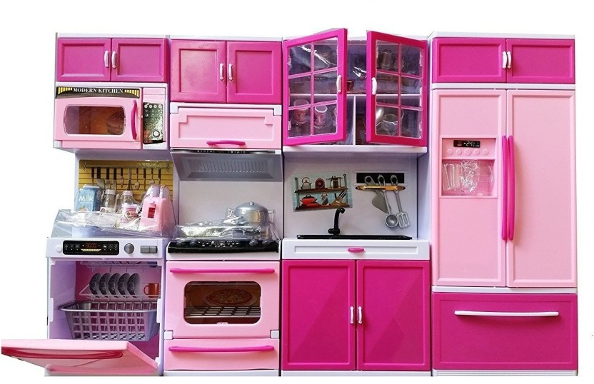 Elektra Dream House Kitchen Set Kids Luxury Battery Operated Kitchen