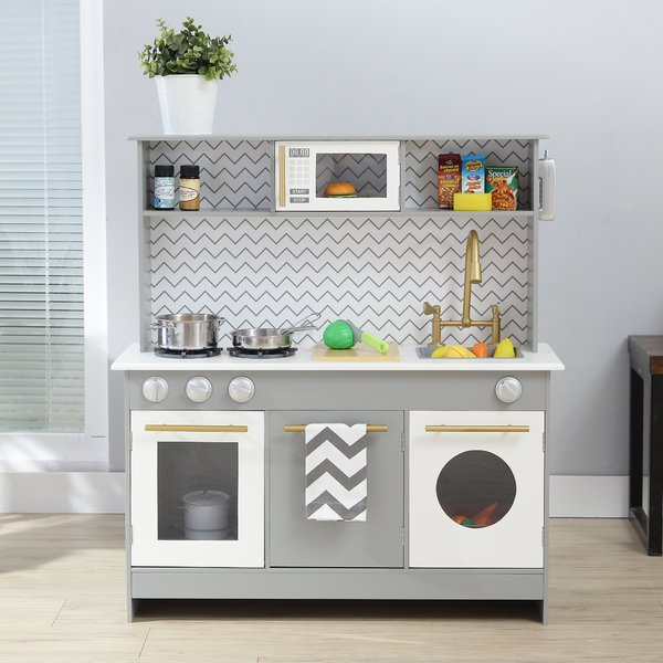 Teamson Kids Bermingham Big Play Kitchen Set & Reviews | Wayfair