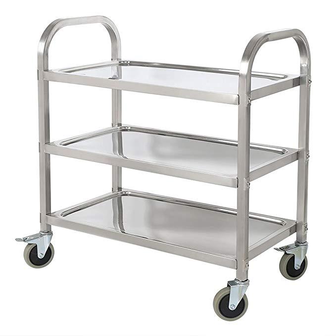 Amazon.com: BestValue GO Stainless Steel 3-Tier Kitchen Trolley