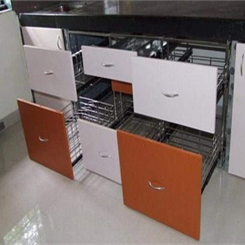 Stainless Steel Modular Kitchen Trolley, Rs 3000 /set, Eagle