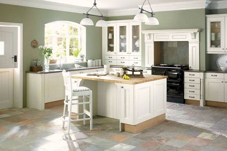 Decoration, Minimalist Room Sage Green Paint Colors For Kitchens