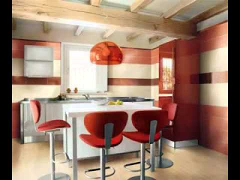 Kitchen wall color ideas - YouTube