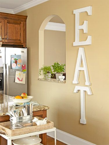 Room Makeover on a Budget | Decorate with letters | Pinterest | Home