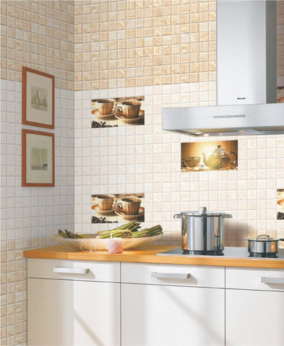Digital Ceramic 300x600 Kitchen Wall Tiles, Thickness: 10 - 12 Mm