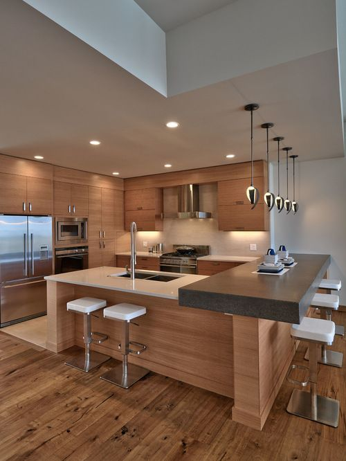 35 Reasons To Choose Luxurious Contemporary Kitchen Design | Home