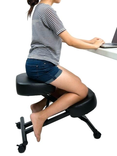 Ergonomic Kneeling Office Chairs Ergonomic Kneeling Chair Adjustable