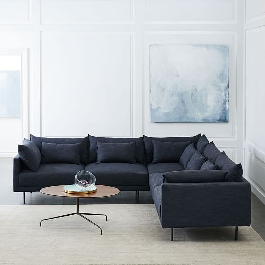 Halsey L-Shaped Sectional | west elm