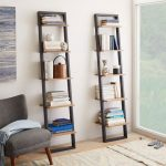 Customise your study by adding   a ladder bookshelf