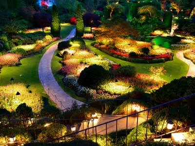 Indianapolis Landscape Lighting: Outdoor Lighting: B&B Group