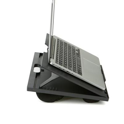Adjustable Tilt Lap Desk With Cushion Black - Mind Reader : Target