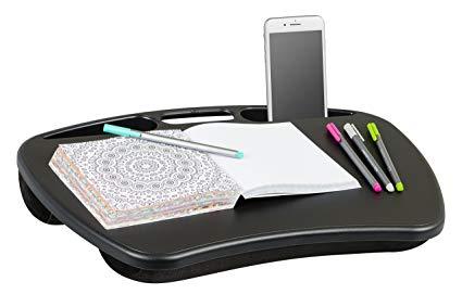 Amazon.com: LapGear MyDesk Lap Desk - Black (Fits up to 15