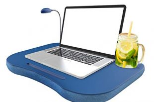 Amazon.com: Laptop Lap Desk, Portable with Foam Filled Fleece