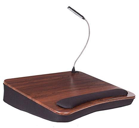 Amazon.com: Sofia + Sam Memory Foam Lap Desk with USB Light (5035