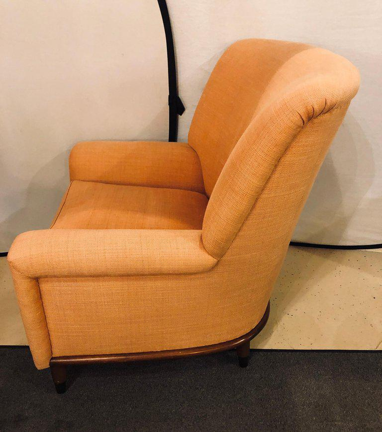 Pair of Art Deco Style A. Schneller & Sons Large Armchairs With