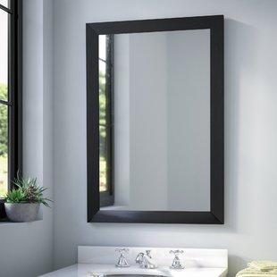 Large Black Framed Mirror | Wayfair