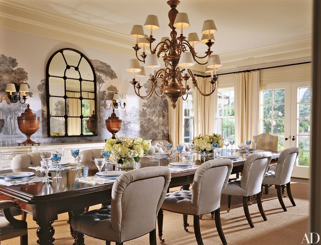 11 Large Dining Room Tables Perfect For Entertaining Photos With