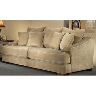 Large Overstuffed Sofa | Wayfair