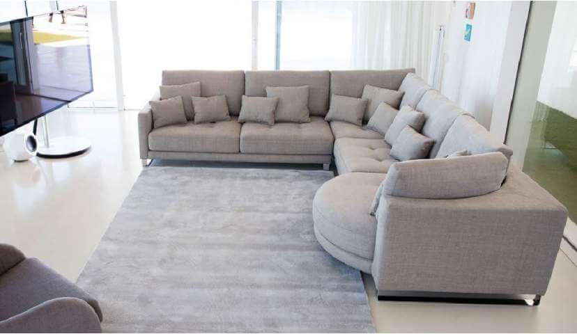 Large Sofas for comfort of guests u2013 DesigninYou