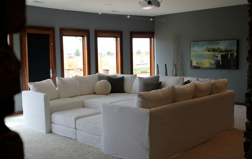 How To Decorate With Oversized Sofas