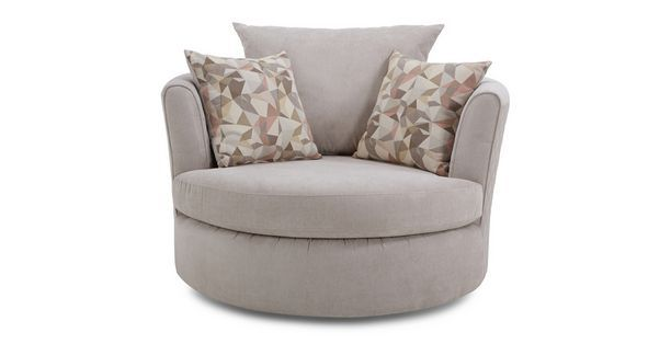 Eleanor Large Swivel Chair Sherbet | DFS £599 | armchairs