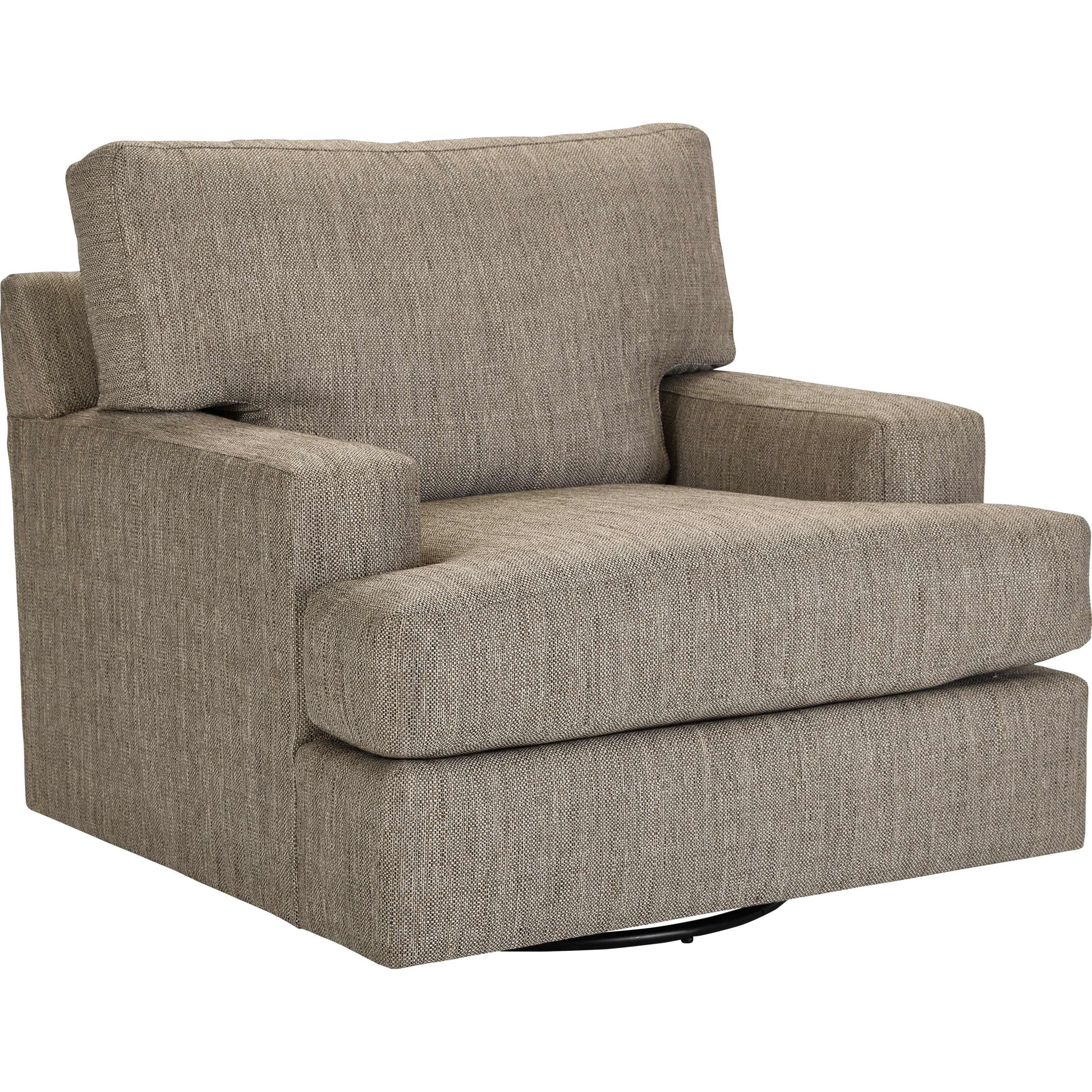 Broyhill Furniture Nash Large Swivel Chair with Track Arms | Lindy's