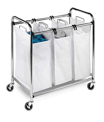 Amazon.com: Honey-Can-Do SRT-01235 Heavy-Duty Triple Laundry Sorter