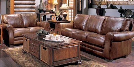 Lane Leather Furniture :: LeatherGroups.com