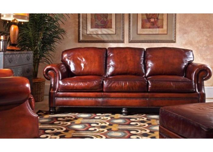 DeLeon Leather Sofa & Set