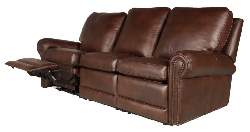Virginia - Reclining Leather Sofa | Leather Creations Furniture