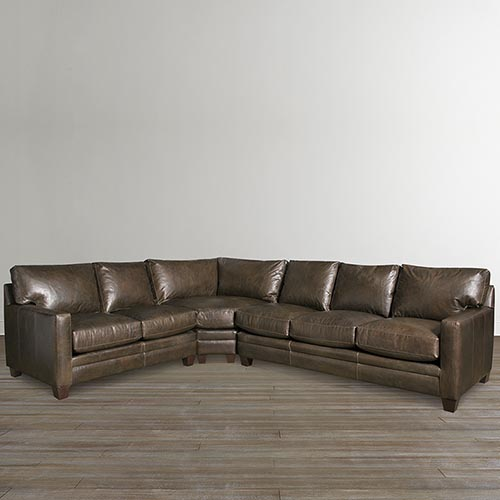 Leather Sectional Sofas | Luxurious Leather Sectionals