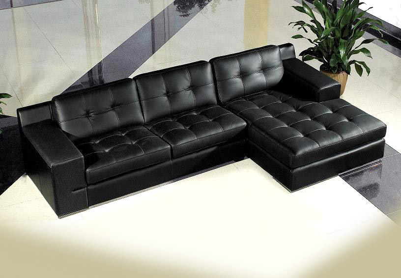 Jeddy Sectional leather sofa | Sectionals
