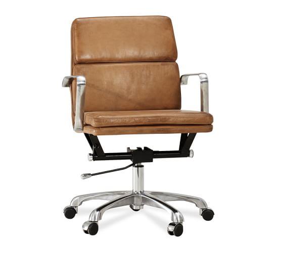 Nash Swivel Desk Chair   Pottery Barn