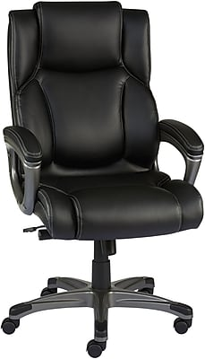 There's something about a   leather desk chair, which you just cannot refuse!