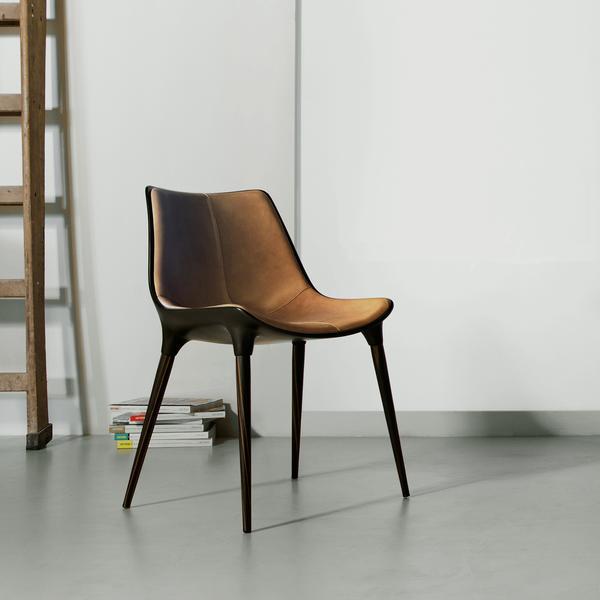 Modloft Langham Dining Chair Leather u2013 Modish Store