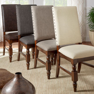 In love with leather dining room chairs? why, try one of these!
