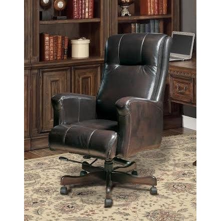 Top Grain Leather Executive Office Chair | RC Willey Furniture Store