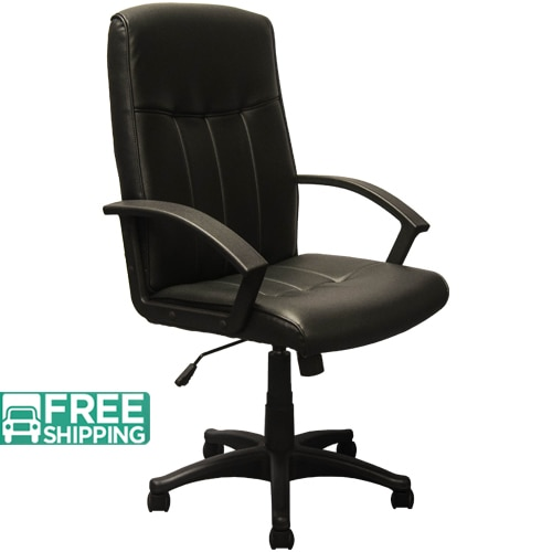 High Back Black Leather Executive Office Chairs KB-3001 | Swivel Chairs