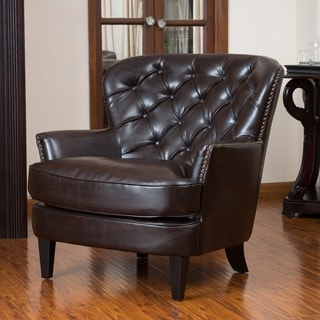 Buy Accent Chairs, Leather Living Room Chairs Online at Overstock