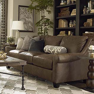 Leather Sofas | Living Room Furniture | Bassett Furniture