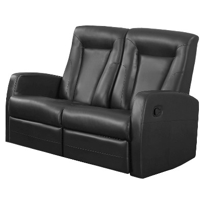 Bonded Leather Reclining Loveseat - EveryRoom : Target