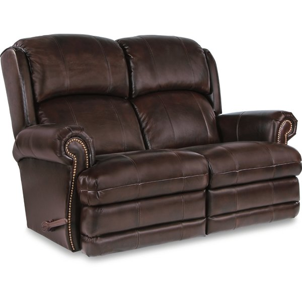 La-Z-Boy Kirkwood Reclina-Way® Full Leather Reclining Loveseat | Wayfair